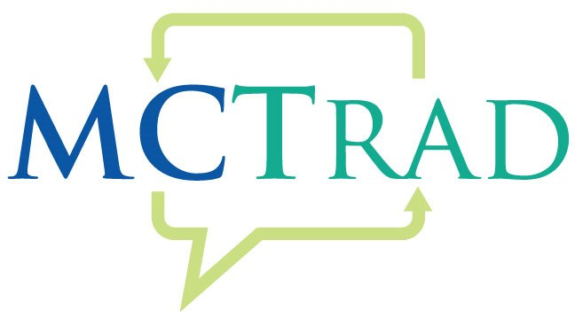 MCTrad is a Canadian business offering technical translation services in the fields of science, health, and agriculture. Logo